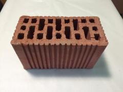 Ceramic block StTsZ M100 250h120h138 mm