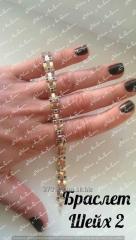 Bracelet Sheikh-2 of 19 cm