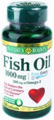 Спортивное питание Nature's Bounty Fish Oil 1000 mg (60 капс.)