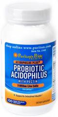 Спортивное питание Puritan's Pride Probiotic Acidophilus (100 капс.)