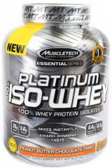 Спортивное питание MuscleTech Platinum 100% ISO Whey (1500 гр.)