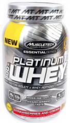 Спортивное питание MuscleTech Platinum 100% Whey (907 гр.)