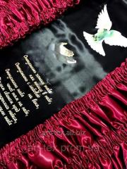 Обивка для гроба О13- атлас
