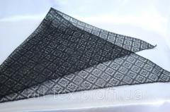 Косынка траурная 75*75 см, гипюр черный