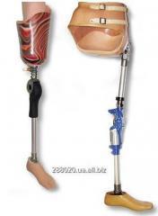 Протези на верхні та нижні кінцівки