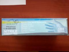 Перчатки нитриловые ANKAR 4.0