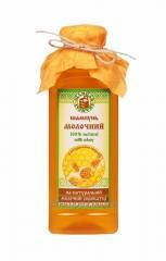 Экологический шампунь «Молочный» с натуральным медом для всех типов волос