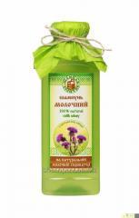 Экологический шампунь «Молочный» с экстрактом лопуха для всех типов волос
