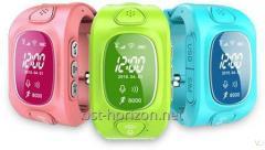 Часы с GPS и сим-картой для детей Smart Baby Watch Q50 из Китая