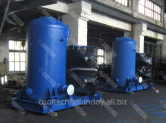 Oil separators for refrigeration units