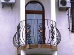 Ограждения для балконов и террас кованые, Одесса,