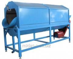 Машина барабанно-моечная щеточная для мойки огурцов, кабачков и других овощей с твердой поверхностью. Изготовим на заказ!