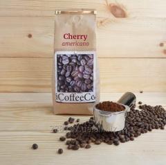 Cherry coffee beans