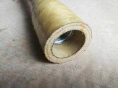 Cylindrical pipe from a tvaron
