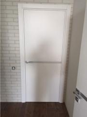 Дверь межкомнатная белая