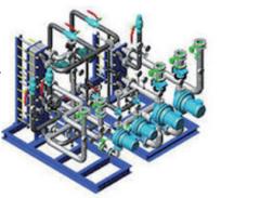 Las capacidades los de drenaje subterráneo horizontal al del volumen de 1,5-63 m ³