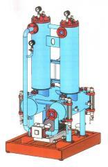 Sistemas equipados para a purificação de água