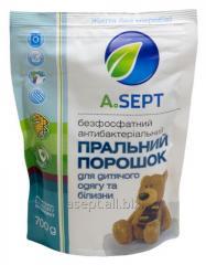 Безфосфатний антибактеріальний пральний порошок