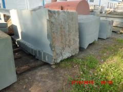 Blocks granite, Blocks granite from the producer