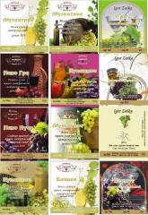 Design and production of labels,