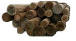 Детали деревянных опор антисептированы