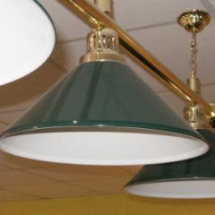 Лампа с 4 плафонами De Luxe