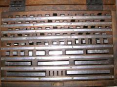 Sets of trailer linear measures of KMD hard-alloy