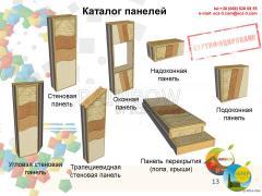 Угловая стеновая панель