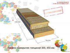 Панель перекрытия (пола, крыши)