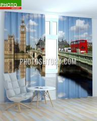 Фотошторы мост в Лондоне ART 1594