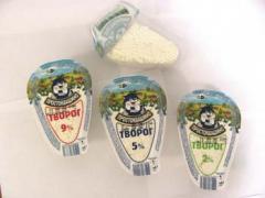 Cottage cheese sour-milk Prostokvashin