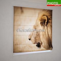 Римские фотошторы лев 5138