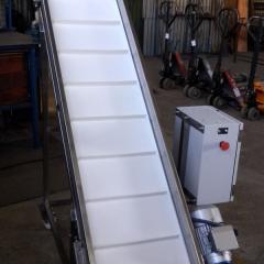 Мобильный ленточный конвейер для транспортиро