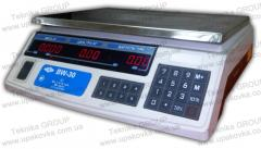 BW-30 Scales electronic trading 30 kg