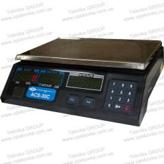 ACS-15C Scales electronic trade 15 kg