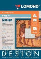 Односторонняя матовая дизайнерская фотобумага Папирус, A4, 230 г/м.кв, 10 листов, код 929041