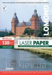 Двусторонняя глянцевая фотобумага для лазерной печати, 130 г/м2, А4, 250 листов , код 310141