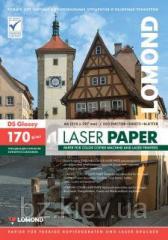Двусторонняя глянцевая фотобумага для лазерной печати, 170г/м2, А4, 250 листов, код 0310241