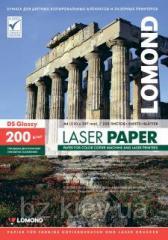 Двусторонняя глянцевая фотобумага для лазерной печати, 200г/м2, А4, 250 листов, код 0310341