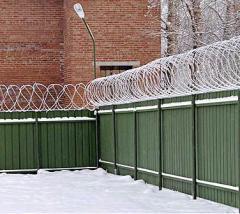 Заборы из профнастила, забор из профлиста. Егоза, колючая проволока.