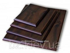 Подложка деревянная прямоугольная с отверстием для крепления (10х15см), код GRW08.02.001/GIO