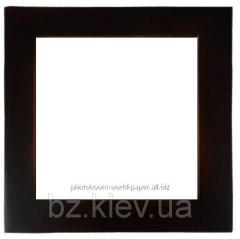 Плитка керамическая в рамке из натурального дерева (20х20 см), код GRW16.01.004/UA