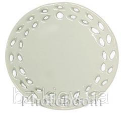 Керамический кулон для сублимации в форме Круг, код GRW07.02.025/LCH