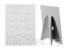 Заготовка пазла в рамке на вертикальной подставке ( 20 эл.), код GRW13.01.011/BZ