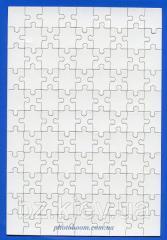Заготовка пазла магнитного прямоугольного ( 99 эл.), код GRW13.01.008/BZ