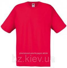 Футболка унисекс Original T для термотрансферной и прямой печати S, Красный, код 061082040
