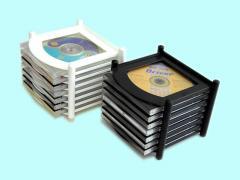 Подставка КП-21м для 21 CD/DVD наращиваемая