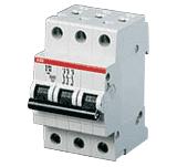 Выключатель автоматический 3-п АВВ 6kА S203 C 2А