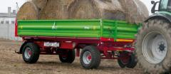 Biaxial P 6-8-10-12-14 trailer