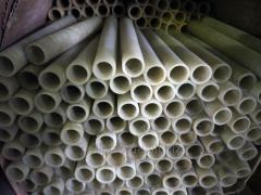 Fiberglass tubes of small diameter